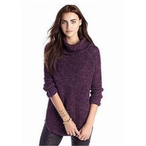 Free People | cozy cable knit turtleneck sweater